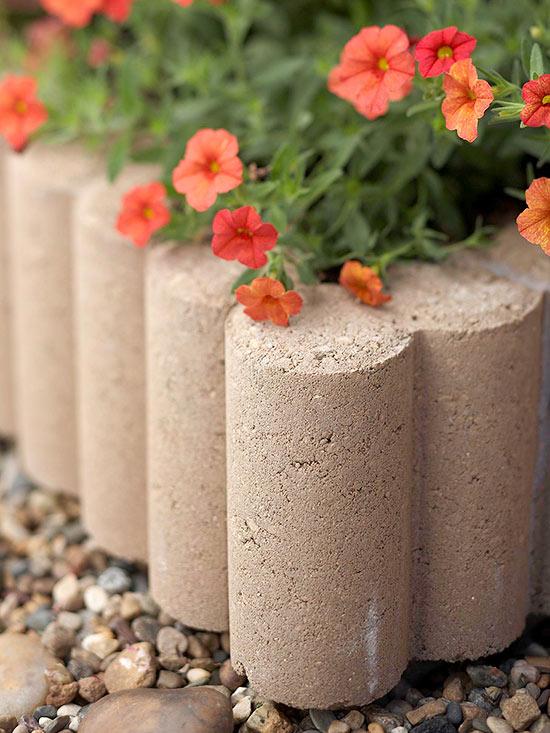 Startling Flower Pots From Concrete